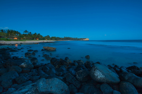 Calm Evening Water at Shipwrecks Beach | Kauai Fine Art Photography, Hawaii