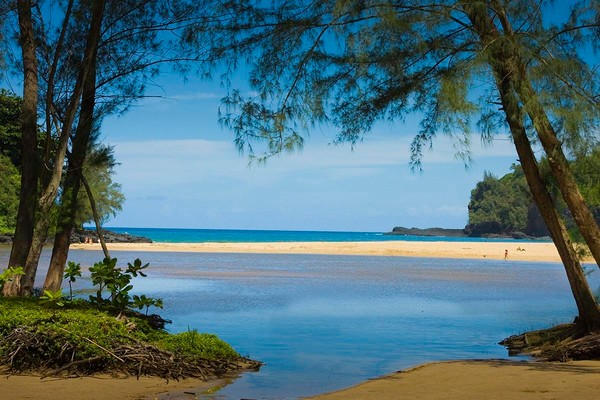 Secluded Kalihiwai Beach | Kauai Fine Art Photography, Hawaii