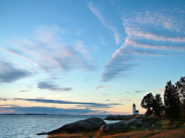 annisquam lighthouse beach big sky sunset gloucester