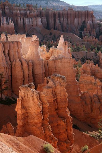 bryce canyon red rocks sunrise utah