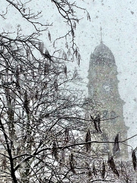 gloucester city hall snow