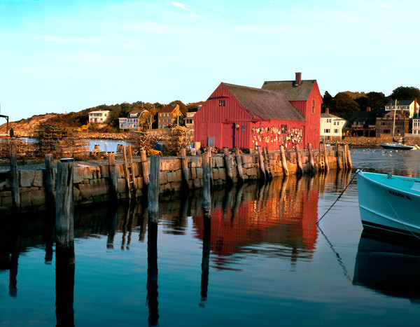 motif #1 reflections rockport harbor