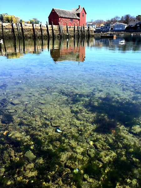 rockport harbor close-up underwater motif #1 rockport