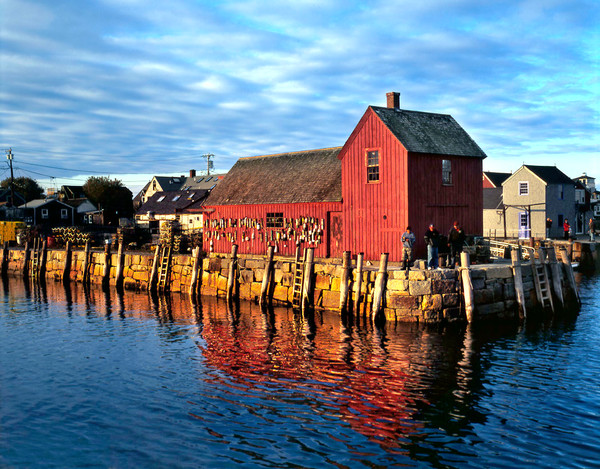 motif #1 fishing rockport harbor