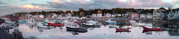 rockport harbor boats motif #1 panorama