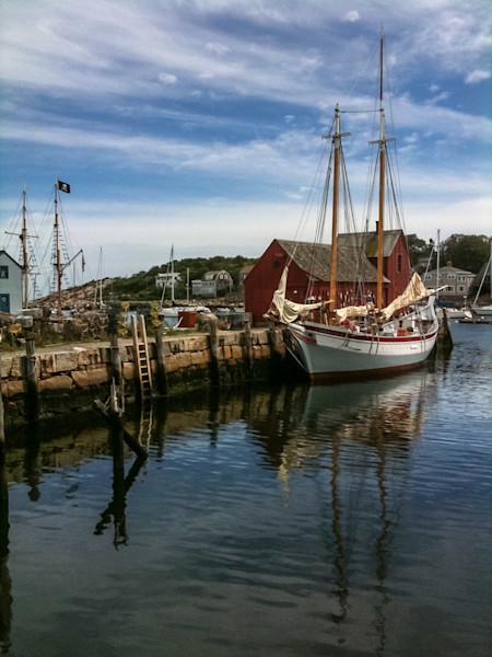 rockport harbor sailboat motif #1 pirate ship