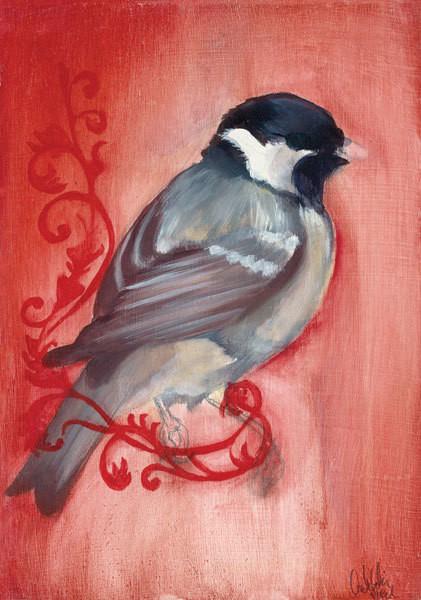 Bird Study XII