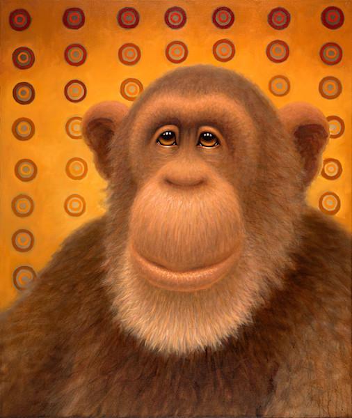 Psychedelic Chimp No. 2