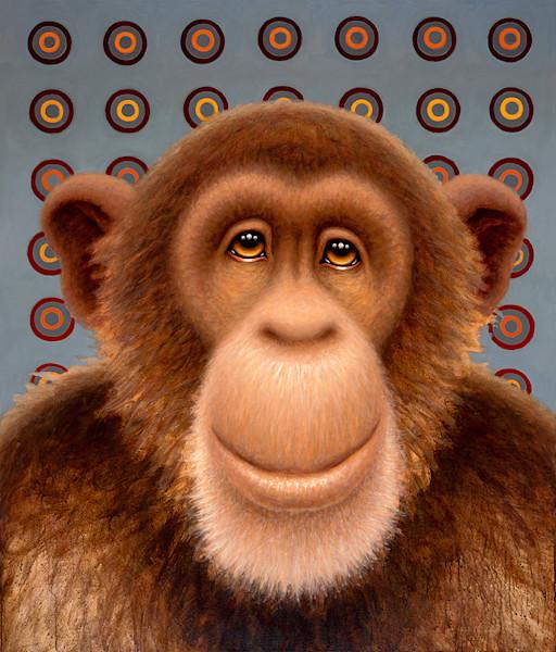 Psychedelic Chimp No. 3