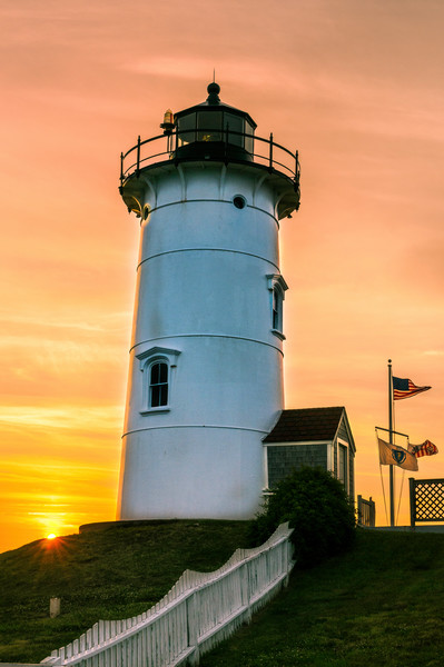 Nobska point Lighthouse prints Cape Cod scenic landscapes