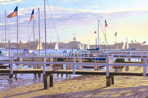 Newport Beach Paintings by Steve Simon