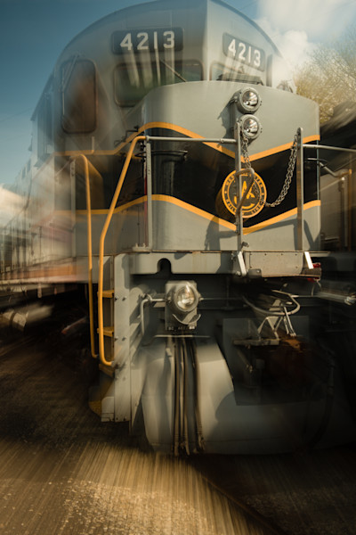 Train on the Move Fine Art Photograph | JustBob Images