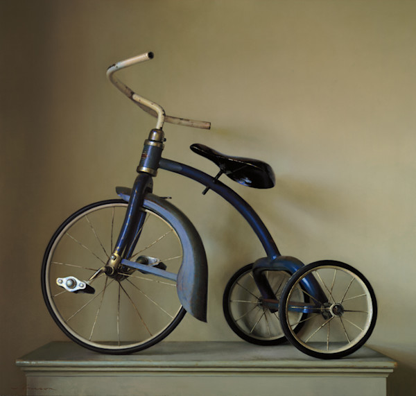 """Blue Tricycle 42""""x40"""""""