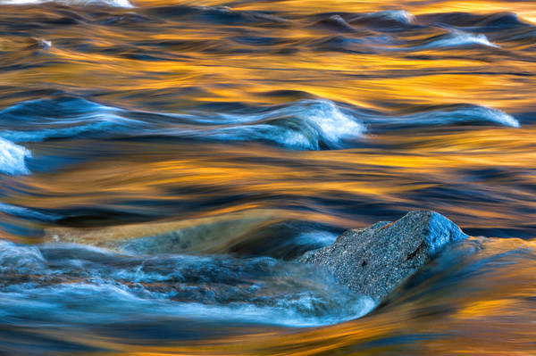 Colorful abstract nature fine art photography decor prints/mesmerizing swirls and patterns from New Hampshire's wild and scenic Swift River