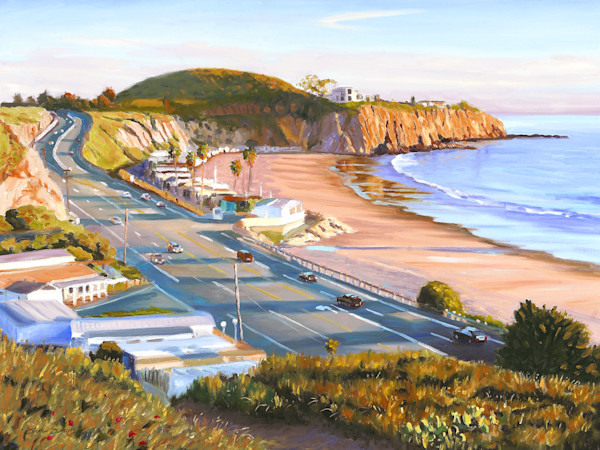 Crystal Cove and Newport Coast Paintings by Steve Simon