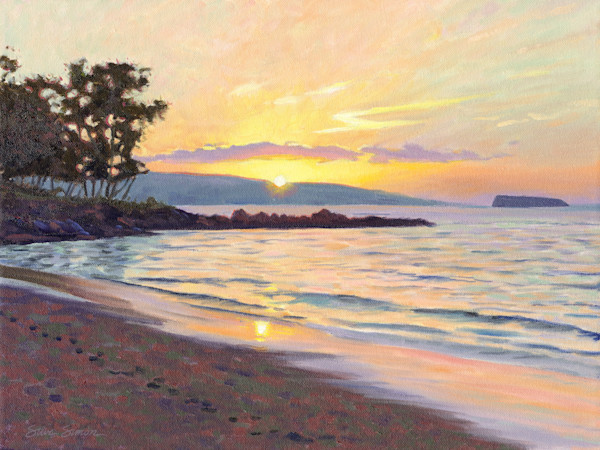 Makena Sunset from Maui Prince
