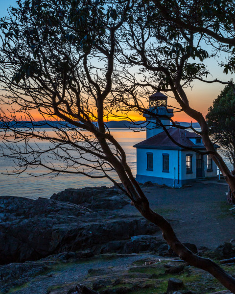 Lime Kiln Lighthouse