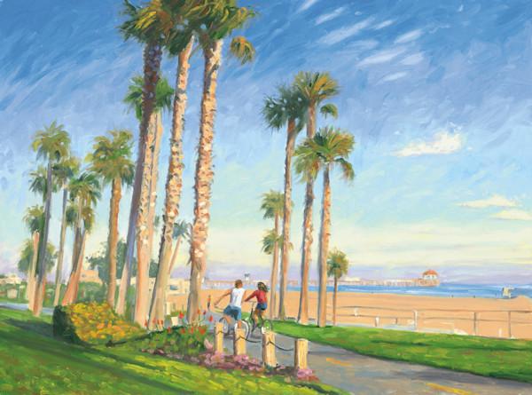 Huntington Beach Pier at Twilight