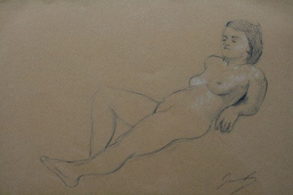 Reclining Figure II
