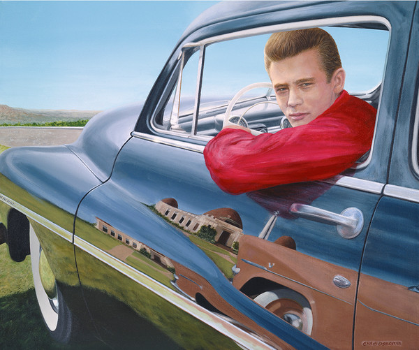 James Dean (side view)