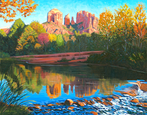 Sedona Arizona Paintings by Steve Simon