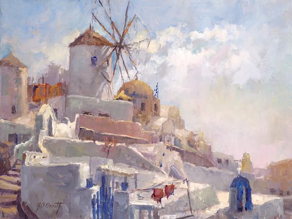 Windmills of Santorini, Joe Anna Arnett