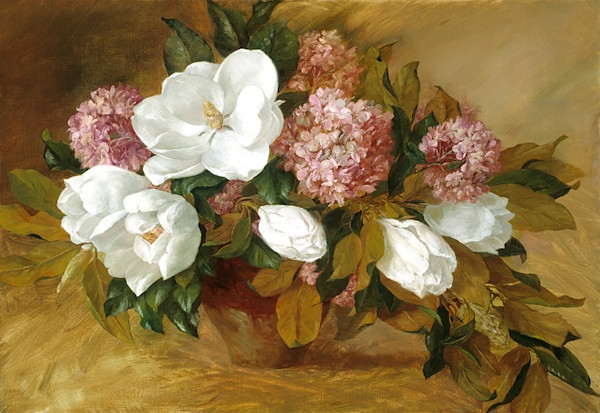 Magnolias and Pink, Joe Anna Arnett
