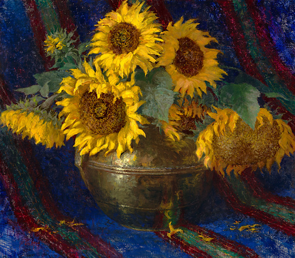 Sunflowers and Trade Blanket