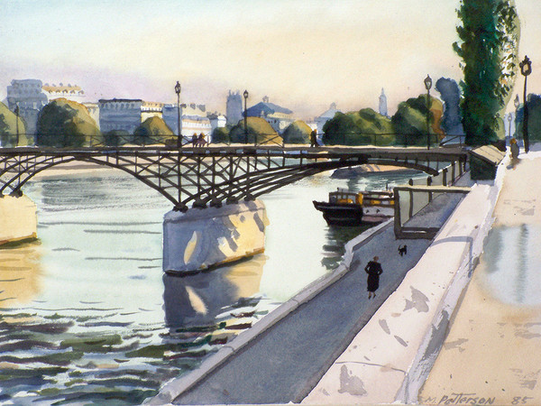 Pont Des Arts Morning