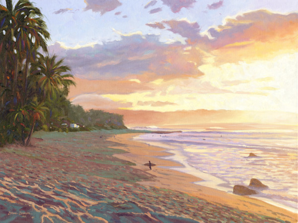 Oahu Paintings by Steve Simon