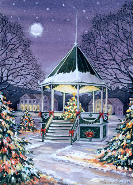 New  Milford Bandstand