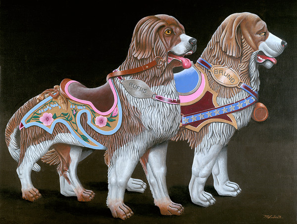 Carousel Dogs To The Rescue