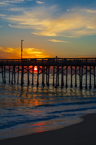 Balboa Pier at Sunset