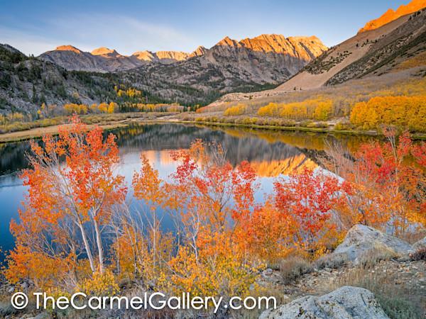 Autumn Sunrise, North Lake