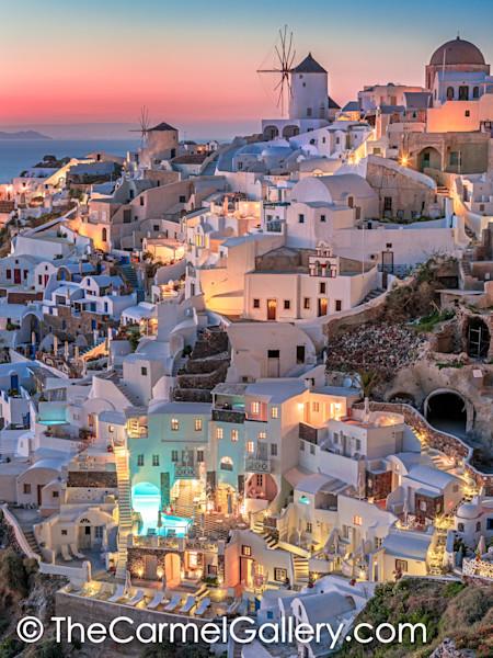 Santorini Art