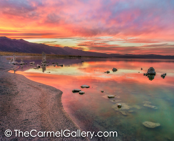 Autumn Sunset, Mono Lake
