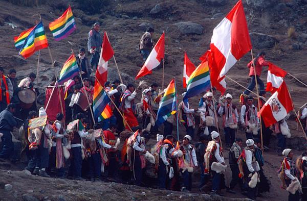Qoyllur Riti Flags