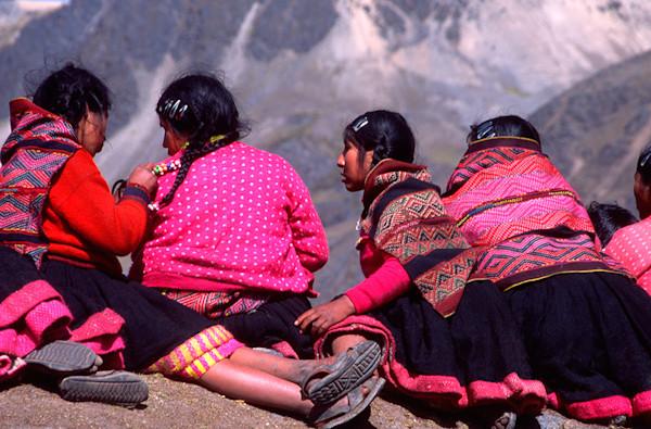 Four Qoyllur Riti Girls