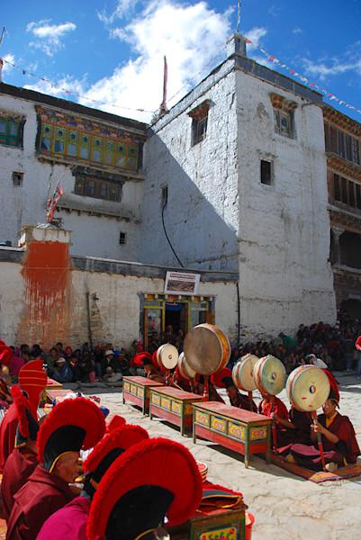 Tibetan Monastery Ritual