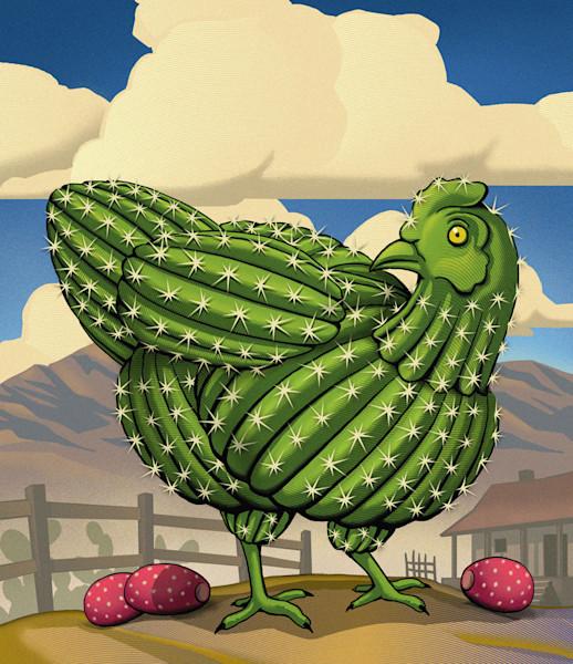 Cactus Hen