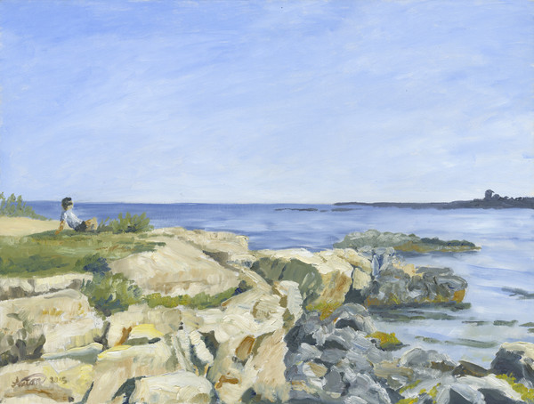 seascape,art,gyclee,painting,reproduction,anton uhl