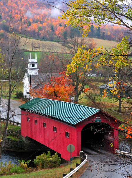 West Arlington Covered bridge prints