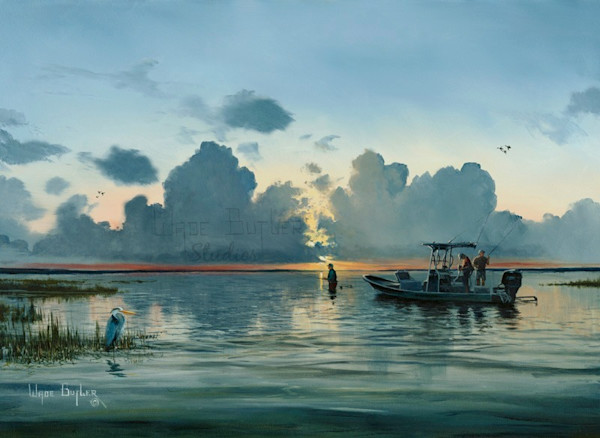 Saltwater Fishing Art and Paintings For Sale