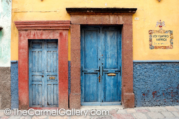 Blue Doors San Miguel