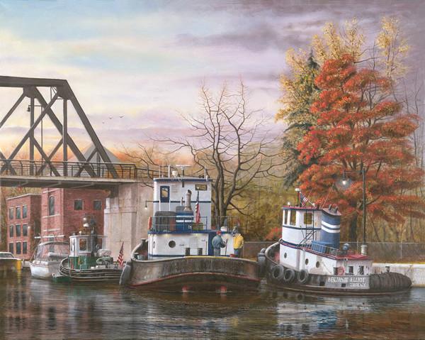 Erie Canal Tugboats