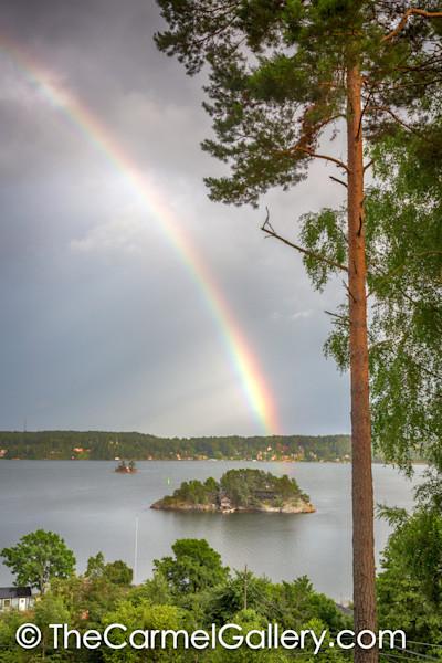 Fermsholmen Rainstorm