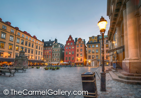 Evening LIghts Gamla Stan