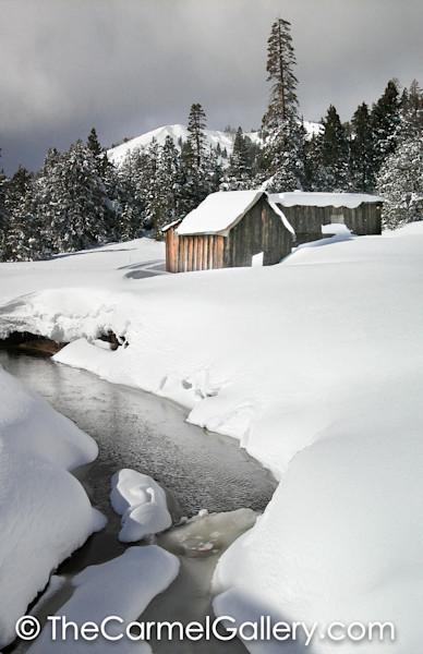 Fresh Snow Euer Valley BW