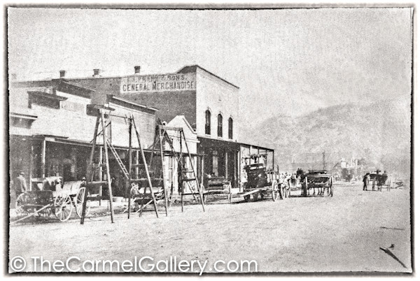 Calistoga Fire August 3 1901