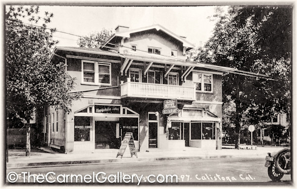 Calistoga Inn 1920's